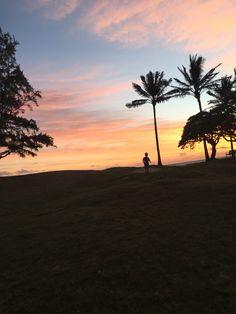 Sunrise at Kailua Beach Hawaii...