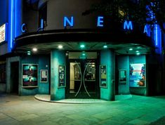 10 Best Independent Cinemas in London Cinemas In London, The World's Greatest, Culture, Map, City, Green, Location Map, Cities, Peta
