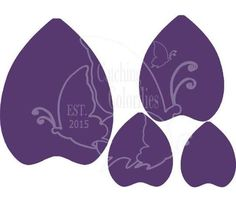 Bella Style Paper Flower Templates- XL - Catching  Colorlfies