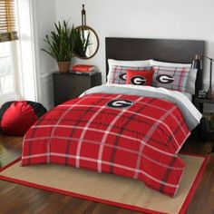 Georgia Bulldogs Full Comforter Set