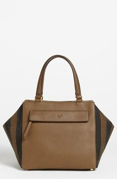 10c879769dc9 Fendi  handbag  purse  clutch pequin mixed media  satchel Fab Bag