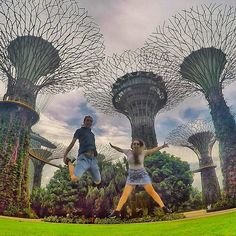 No basketball for almost 3 months but still still got some hops - fun day at the Gardens By the Bay  #jump #gardensbythebay #singapore . . . #GoPro #goprohero4 #couple #backpacker #backpackerlife #goals #relationshipgoals #selfie #goprooftheday #photooftheday #wanderlust #goprohero #travel #travellingtogether #travellingcouple #goproeverything #goprophotography #globetrotter #digitalnomad #goproasia #getbackpacking #hero_adventure #hops #garden #supertree #tree #asia . @backpacker_pics…