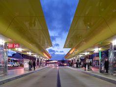 tetrarc architectes PEM station saint-nazaire designboom