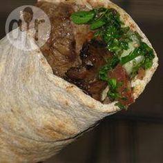 Lebanese Doner Kebab quick, easy weekend dinner. healthy homemade.