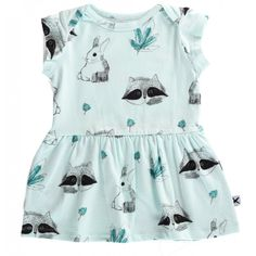 Woodlands Dress - Ice - Buckets and Spades