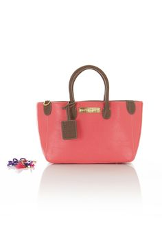 Paul's Boutique | Elizabeth in coral with chocolate | Paul's Boutique Official web site