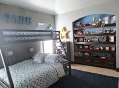 Cade's Chevron Big Boy Room   Project Nursery