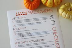 Halloween party checklist {Catch My Party} Halloween Facts, Halloween Party Decor, Halloween Fun, Party Planning Checklist, Party Activities, Party Entertainment, Kohls, Adulting, Holiday Fun