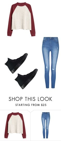 """Untitled #452"" by austynh on Polyvore featuring H&M and Converse"