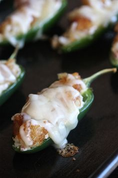 Bacon Jalapeño Poppers with a Cheesy Tater Tot Crust
