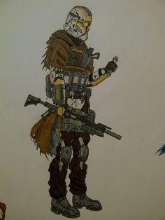 ARC commander by halonut117 on DeviantArt