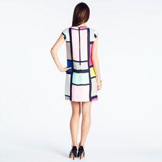 kate spade   Shop Mondrian Dress, Fashion Art, Fashion Outfits, Hippie Style, Street Wear, Kate Spade, Dresses For Work, Gcse Art, Ysl