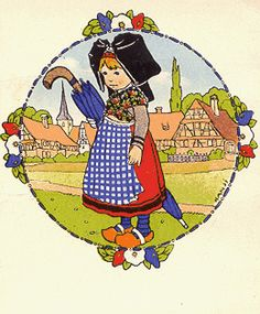 même si je ne suis pas alsacienne j'adore l'imagerie ancienne d'Hansi