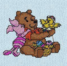 Winnie the Pooh Pasqua di IricamidiValli su Etsy