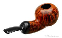 Grechukhin Smooth Bent Apple (G) Pipes at Smoking Pipes .com