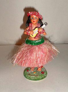 Vintage Hula Dashboard Doll Hawaiian Hula Dancer by carriesattic, $15.00