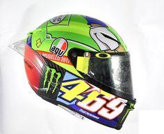 Rossi Mugello 2017 Helmet. View the 360 video: http://www.championhelmets.com/en/agv-pista-gp-r-mugello-2017-helmet-limited-edition.html
