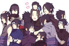 Tags: Fanart, NARUTO, Uchiha Sasuke, Pixiv, Uchiha Itachi, Fanart From Pixiv, Uchiha Brothers, Naruto the Movie: Road to Ninja, Naruto The Movie: The Last, Pixiv Id 1860821