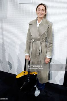 Designer Phoebe Philo attends the LVMH Prize 2016 Young Fashion Designer at Fondation Louis Vuitton on June 2016 in Paris, France. Get premium, high resolution news photos at Getty Images Phoebe Philo, Charlotte Rampling, Wimbledon, Kanye West, Celine Campaign, Street Chic, Street Style, Burberry, Style Snaps