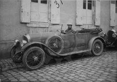 LE MANS 1924 - Roland Pilain C23  #17 -  Gaston Delalande -  Georges Guignard