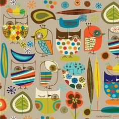 I would use this fabric on EVERYTHING if I had it. So awesome!