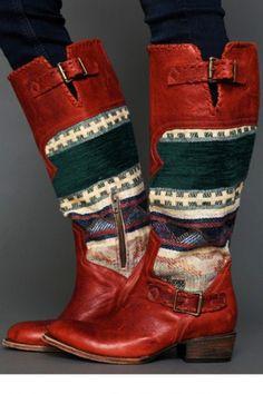 Freebird-by-Steven-Free-People: southwest boots. Love