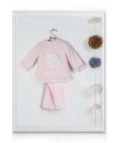 ROSA chándal rosa bebé: sudadera y pantalón