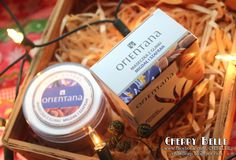 Cherry Belle Makeup & Beauty: Orientana – Naturalna maseczka z glinki Migdał i szafran – Mój sposób na czystą i piękną cerę - Gotowa maseczka z glinki :)