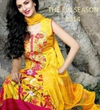 Ajwa Textile Vol-1 Afsoon Eid Summer Lawn Collection 2014