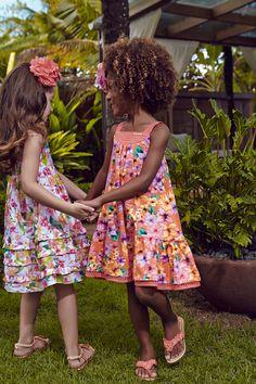 Momi   Moda   Roupa Infantil Feminina   Coleção Verão www.lojachicchic.com.br