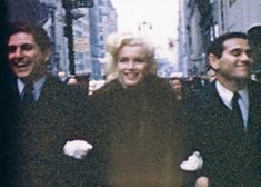 Marilyn with George Nardiello and Milton Greene in NYC, 1955. Footage by Peter Mangone.