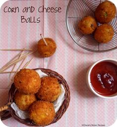 Cherie's Stolen Recipes: Corn and Cheese Balls