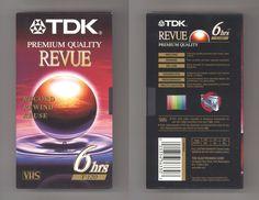 vaultofvhs: TDK Premium Quality Revue 6hrs T-120 Video Cassette Tape | K i l l e s t