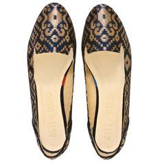 Midnight in Banaras Ballet Flat Shoes
