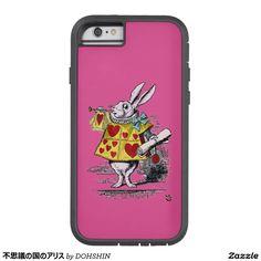 不思議の国のアリス iPhone 6 タフ・エクストリームケース