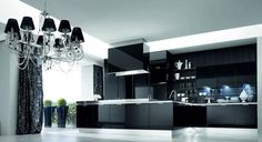 "cucina moderna ed elegante ""Alta cucine"" da  I Tesori Coloniali (R.E) #itesoricoloniali #cucina #arredamento"