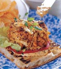 Crab Cake Sandwiches        http://VIPsAccess.com/luxury/hotel/tickets-package/monaco-grand-prix-reservation.html