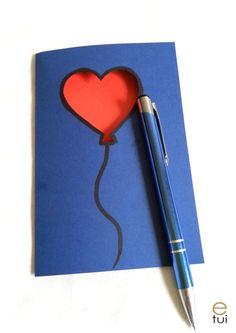 Valentine's card Valentines, Diy Crafts, Cards, Valentine's Day Diy, Valentines Day, Make Your Own, Homemade, Maps, Valentine's Day