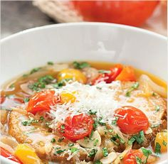 Roasted Tomato Bread Soup | iVillage.ca