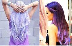 Resultado de imagem para garotas bonitas de cabelo roxo
