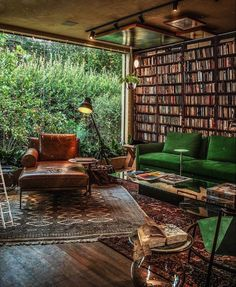 British Home, Dream Library, Blue Rooms, Reading Room, Sunday Morning, Outdoor Furniture, Outdoor Decor, House Design, Patio