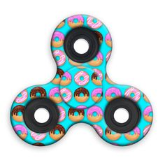 Spinner Squad Donut Fidget Spinner! Voted #1 for fastest and longest spin!
