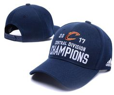 4a996bc37f7 Men s   Women s Cleveland Cavaliers Adidas 2017 NBA Central Division Champions  Adjustable Hat - Navy