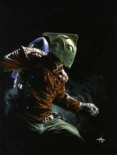 The Rocketeer by Gabriele Dell'Otto