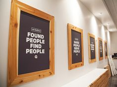 Framed Core Values