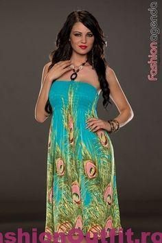 Rochiile sunt considerate articole vestimentare pline de feminitate, foarte lejere si comode, si sunt disponibile intr-o gama variata de modele si intr-o paleta Strapless Dress, Lei, Stuff To Buy, Dresses, Fashion, Strapless Gown, Gowns, Moda, La Mode