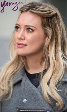 Steal Hilary Duff's style! Beautiful ombre highlights. Watch her in the new series 'Younger' from the creator of Sex and The City! Click to discover full episodes.