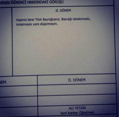 İşte öğretmenlerin karnelere yazdığı en vurucu görüşler