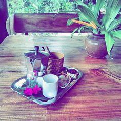 Good morning sunshine!  Have a fabulous day     #coffee #organic #yogajourneys #yogaretreat #wyjazdyzjogą #wakacjezjogą #simplelife #wanderlust #travelblog #podróże #travel #instatravel #relax #relaks  #beautifuldestination #goodmorning #sheisnotlost #simplelife #simpleplesures #jungle #junglelife #Thailand #tajlandia #breakfastofchampions #coffelover #kawa #coffeeaddict