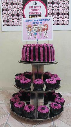 Sweetie Cupcakes, Birthday Parties, Birthday Cake, Birthday Ideas, I Party, Party Ideas, Kpop, Room Inspiration, Desserts